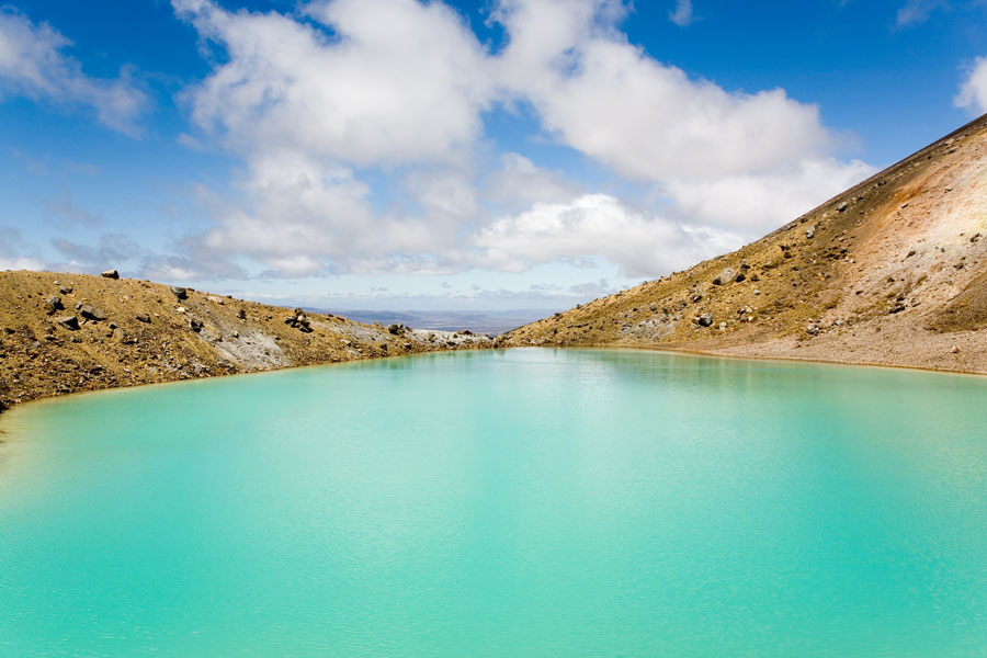Tongariro crossing, Emerald lake