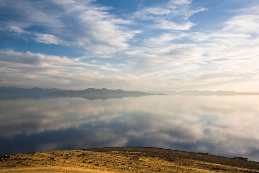 Antelope Island - Reflection