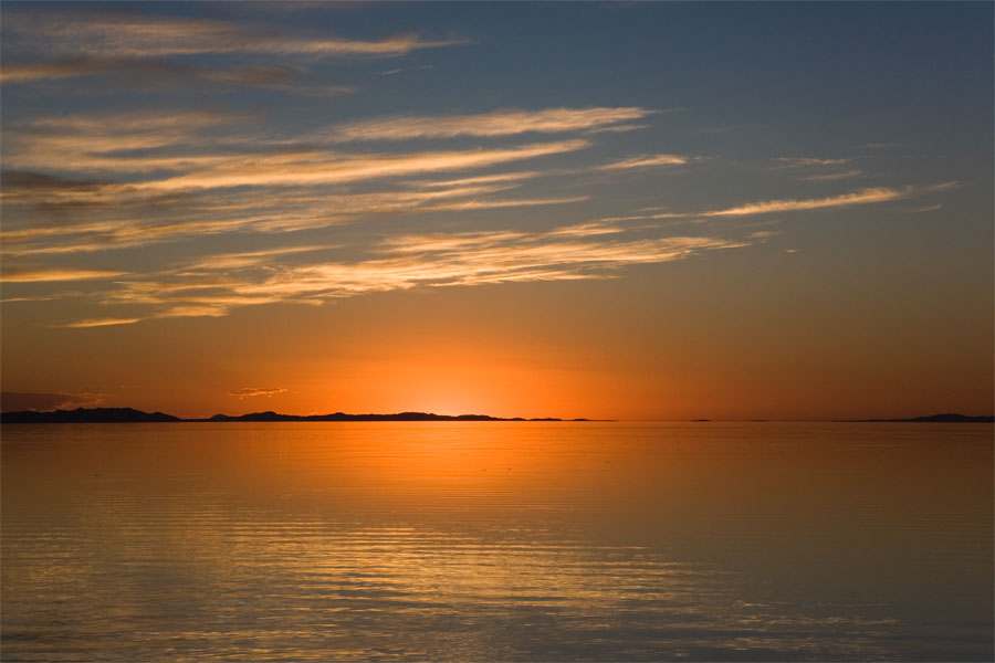 Antelope Island - Sunset