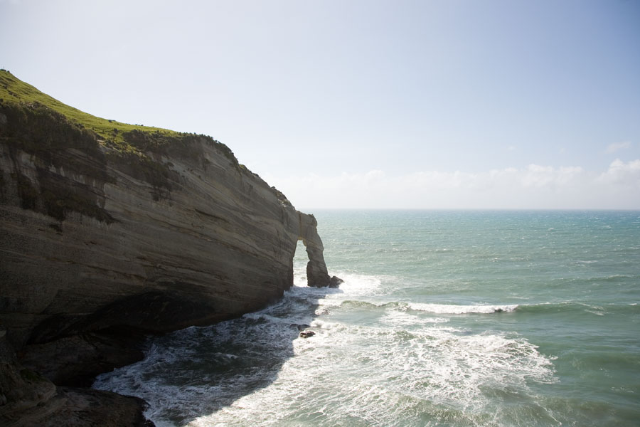 Cape Farewell, The northernmost point of the South Island