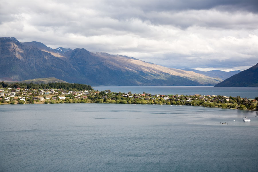The outskirts of Queenstown