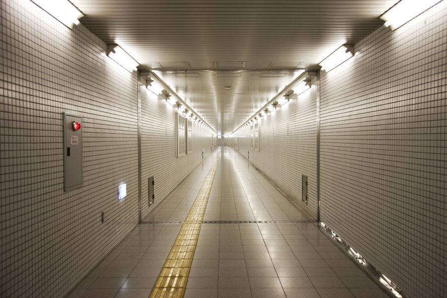 space age - Kyoto subway
