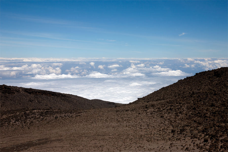 Above the clouds - Climbing Kilimanjaro