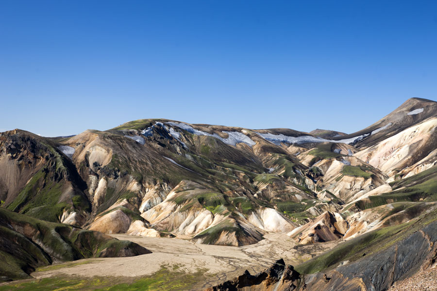 Iceland - the colored mountains - Landmannalaugar