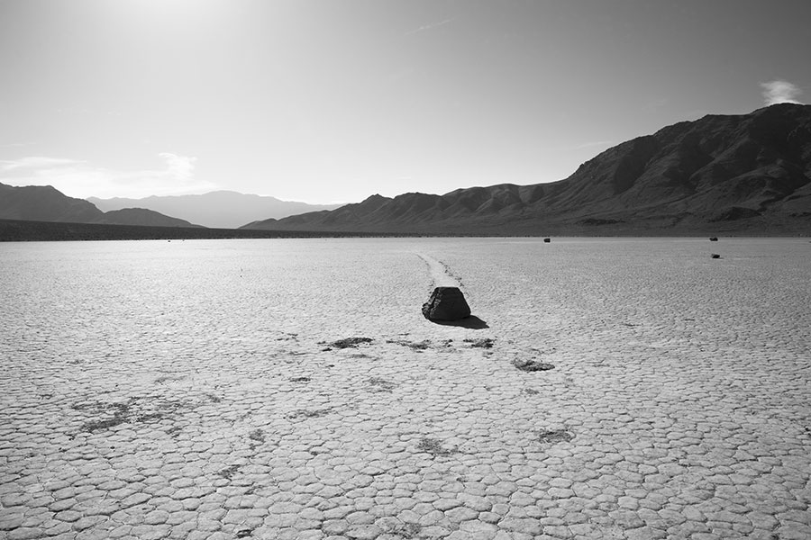 Death Valley - Racetrack Playa - California